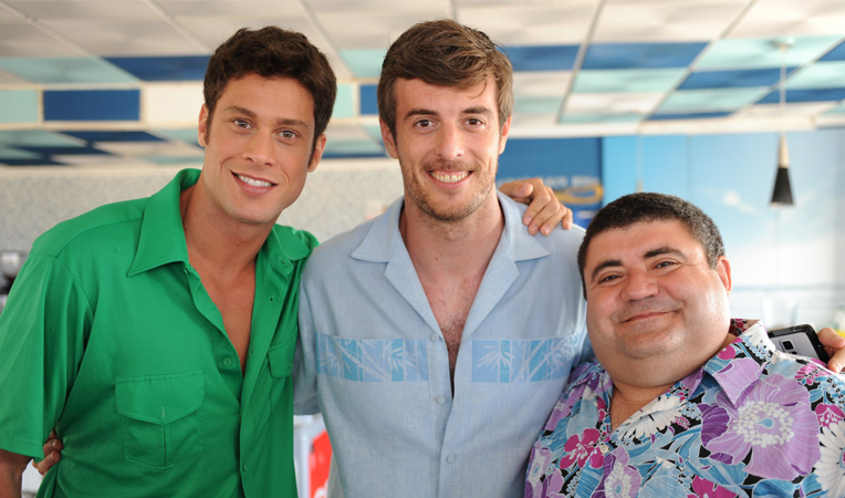 Alex, Jaume y Tonet